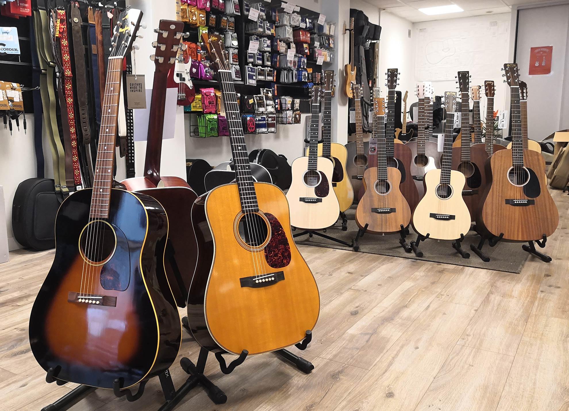Magasin de guitare et réparation , Guitar Tech